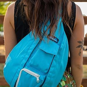 KAVU Rope Sling Bag Polyester Pack