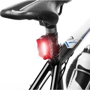 Free Shipping TeamObsidian Bike Light Set Super Bright LED Flashlight Bicycle