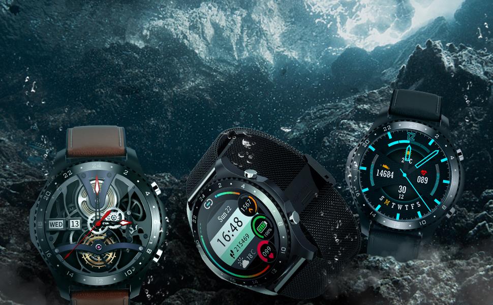 IP68 Waterproof Smart Watch
