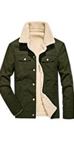 sherpa coat men mens casual winter jacket fur collar jacket men mens jacket fur collar men coats