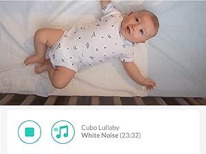 app in built lullaby white noise