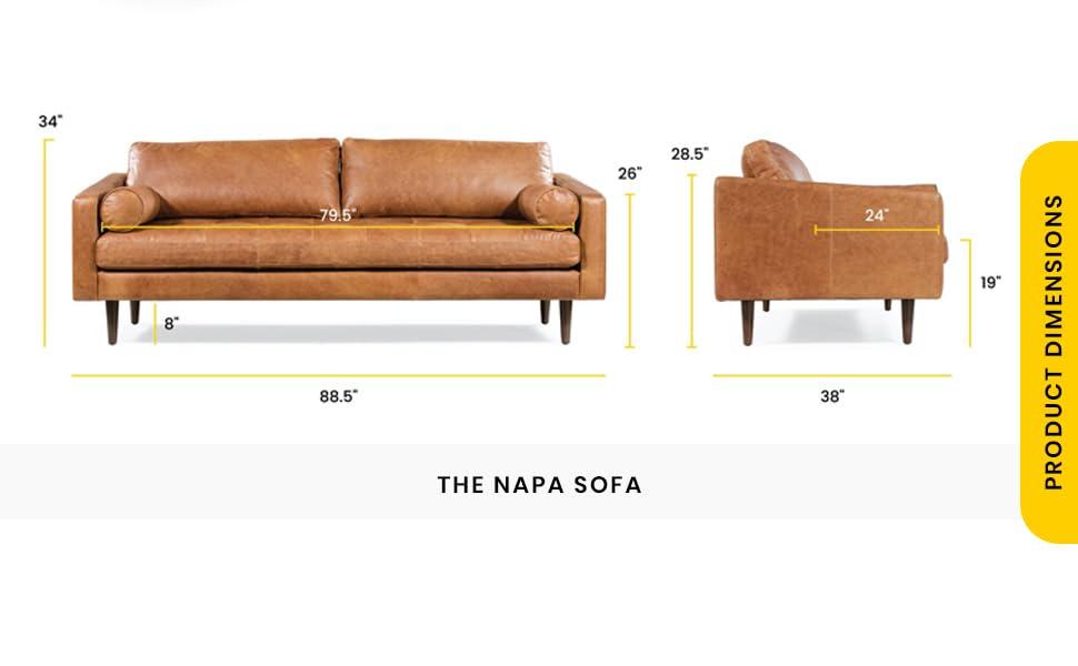 Napa dimensions