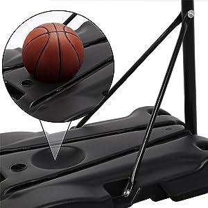 portable basketball hoops outdoor