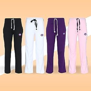 VIMAL Cotton Blended Trackpant for Girls