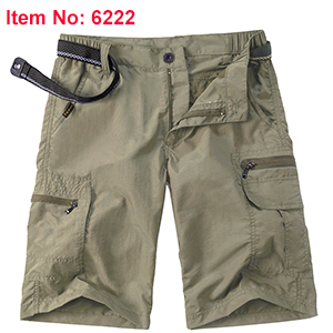 Men's Outdoor Lightweight Hiking Shorts Quick Dry Shorts Sports Casual Shorts