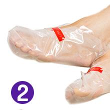 foot peeling mask cracked feet peach men women foot spa li-ba organic okee-fes moisture socks sock
