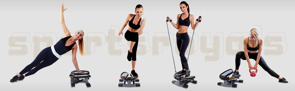 Portable mini stepper for exercise
