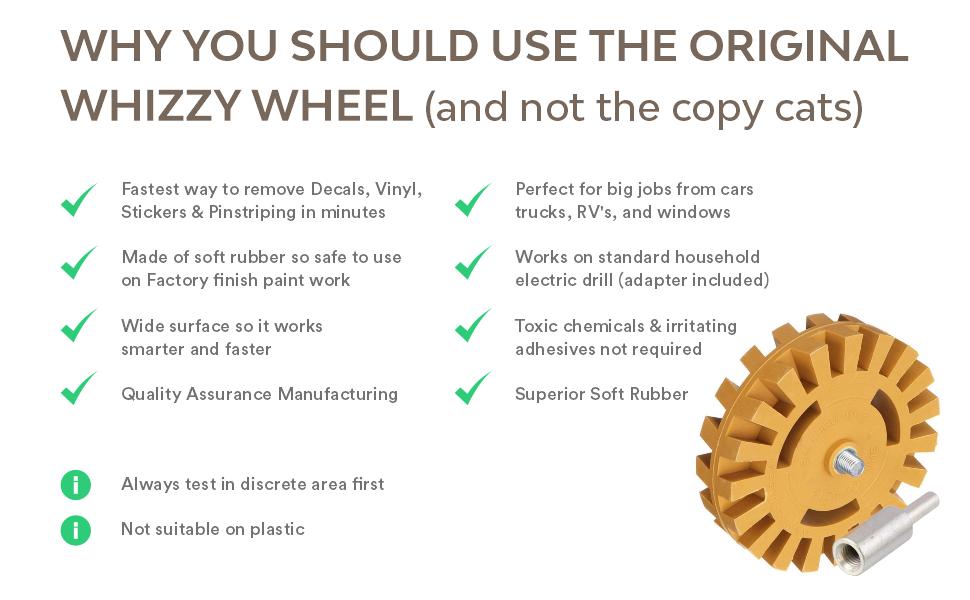 whizzy wheel quality