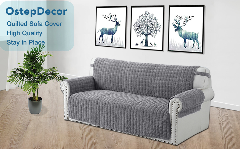 Amazon.com: OstepDecor Premium Sofa Cover, Couch Cover ...