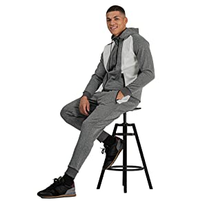 Grey and White Jogging Suits