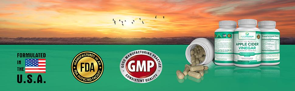 usa fda gmp pills supplement