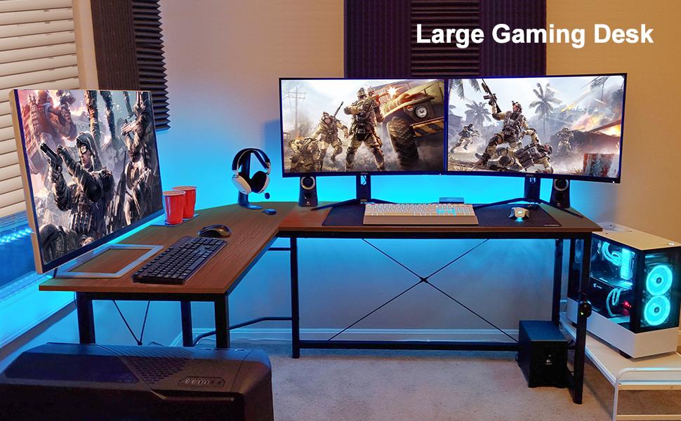 Large gaming desk