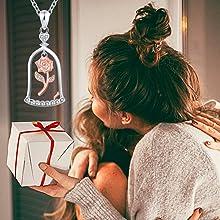 birthday gift jewelry necklace women girls