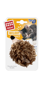 gigwi melody chaser cat toy hedgehog sound ship