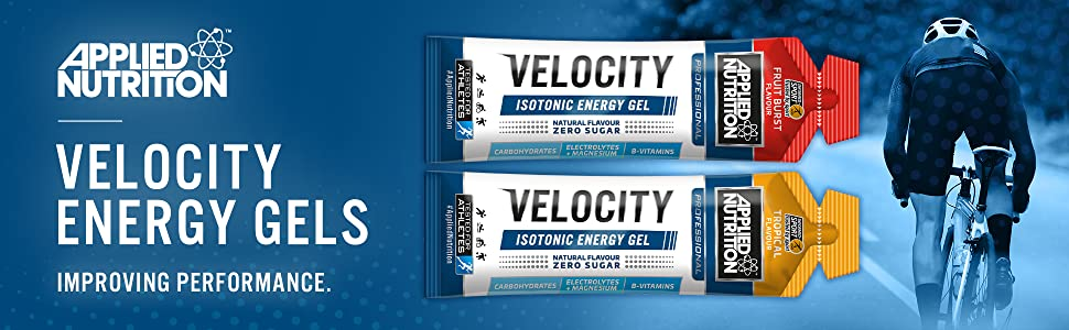 Applied Nutrition Velocity Energy Gel Isotonic, Electrolytes, Magnesium & B  Vitamins, High5 Sport Science Supplement, Natural Flavour Zero Sugar,  Box-20 x 60g Gels (Tropical): Amazon.co.uk: Health & Personal Care