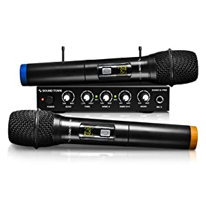 SWM16-PRO Wireless Microphone Karaoke Mixer System with Optical (Toslink), AUX - Smart TV, Soundbar