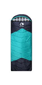 Single Sleeping Bag-Flannel