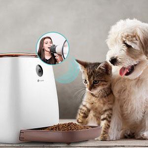 Houzetek Comedero Automático Perros y Gatos, Comedero para Perro ...