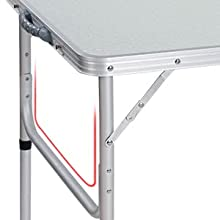 heavy duty folding table folding trestle table adjustable height folding table fold up camping table