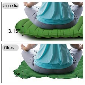 Ryaco Colchoneta Ultraligera, 185 * 60 * 9 cm, Esterilla Inflable ...