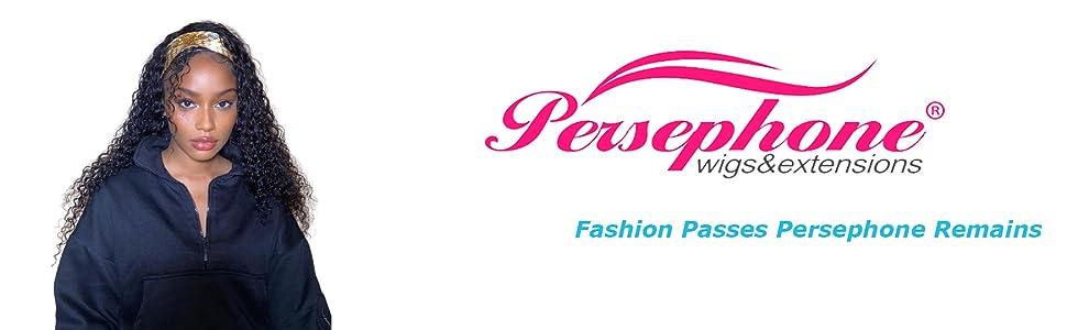 Persephone Headband Wig Human Hair