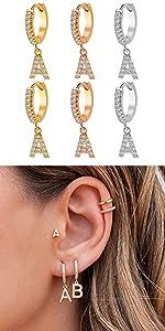 initial earring