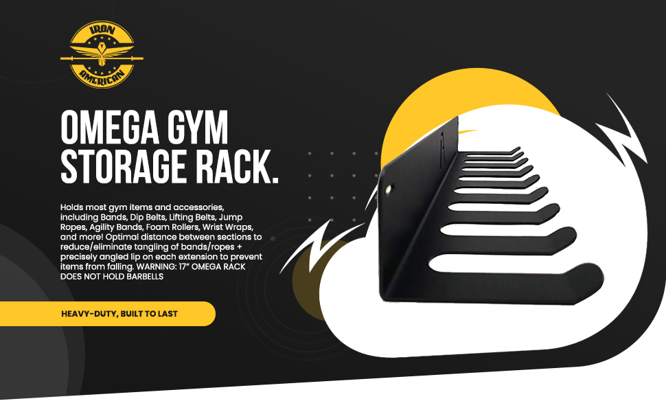 Omega Gym Storage Rack