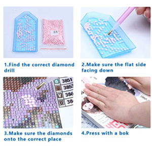 DIY Rhinestone Embroidery Full Drill Cross Stitch Arts Craft for Home Wall Decor Scenic 15.7 5D Full Diamond Painting Kit 11.8 Inches
