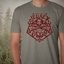 jersey devil, cryptic, legend, New Jersey, pine barrens, mystery, paranormal, t-shirt, parabox