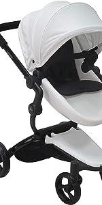 Contemporary doll stroller