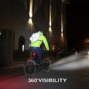 bike light set 360 degree