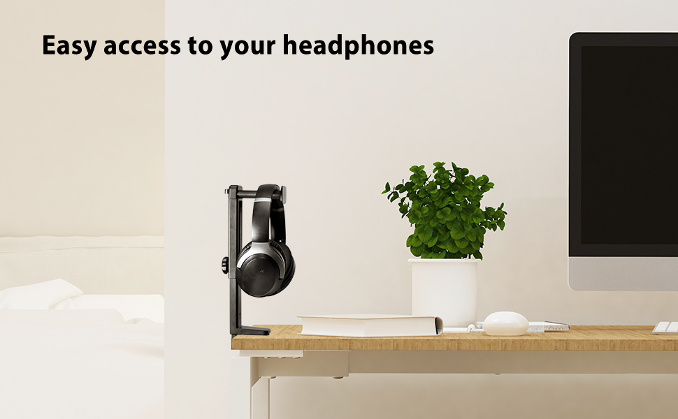 headphone hanger and stand