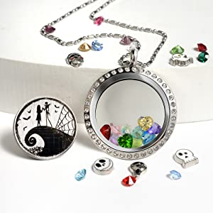 Nightmare Before Chirstmas Necklace
