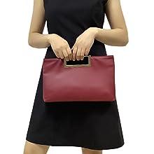 PU clutch purse