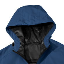 Wantdo Men's Waterproof Rain Jacket Breathable Raincoat Packable Sportswear