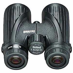 Rear view of Bushnell Ultra HD Binoculars