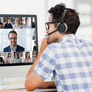Skype MS Teams Zoom Webex
