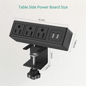 Clamp Power Outlet Socket