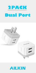 square wall charger