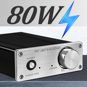 80W power amp