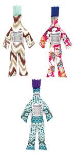 set of three, three pack, dammit doll, dammit dolls