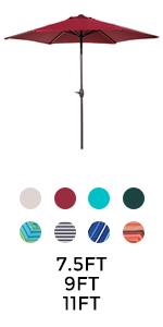 Round Patio Umbrella