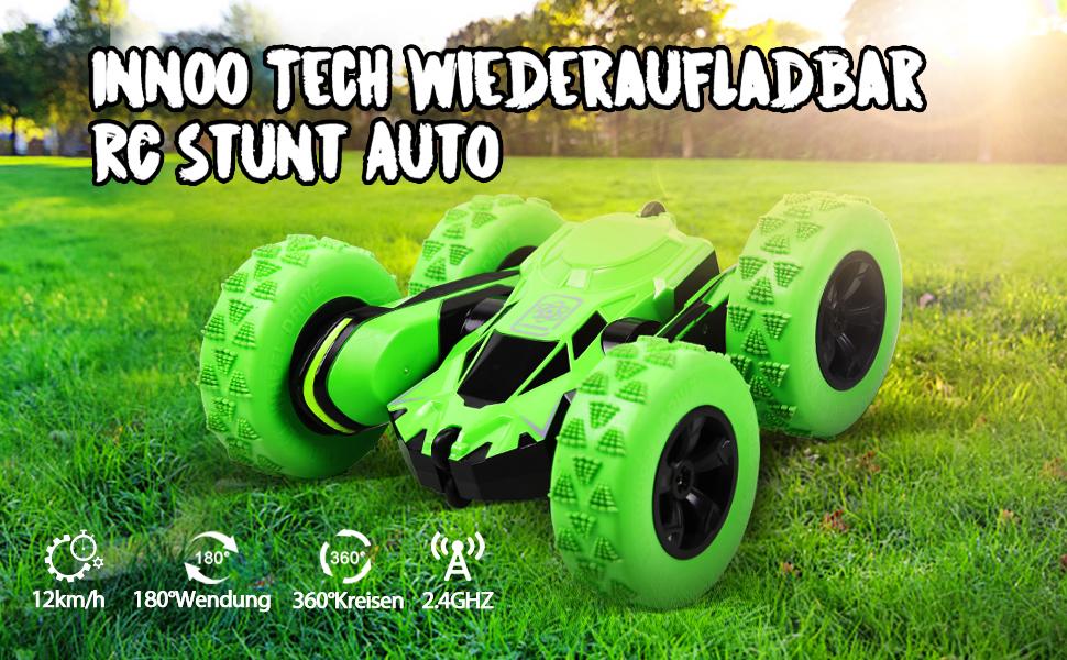 Innoo Tech Ferngesteuertes Auto Wiederaufladbar RC Stunt