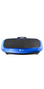 Turbo vibrating plate, vibration platform, vibrating platform