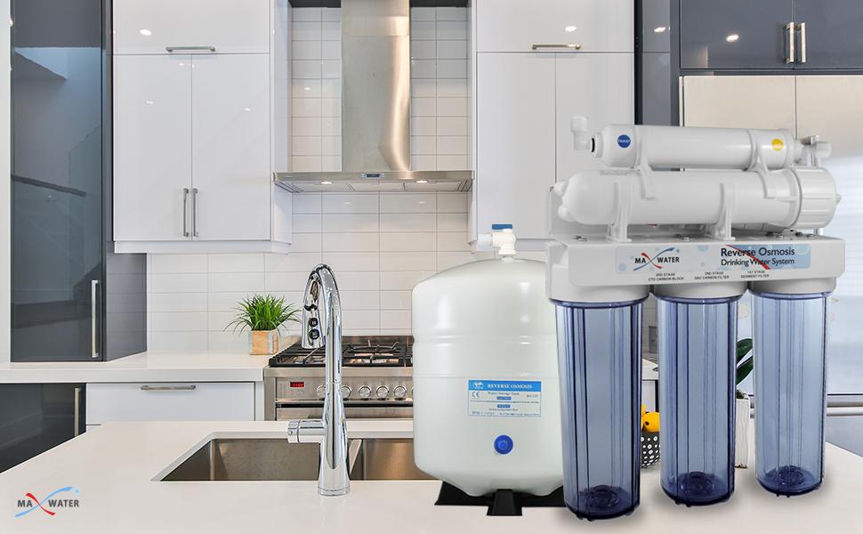 Max Water RO Header Reverse Osmosis