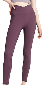 V-shaped waist leggings