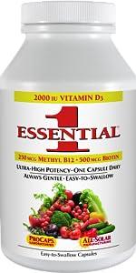 Essential-1 with 2000 IU Vitamin D3