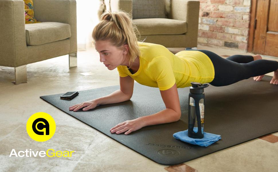 exercise mat, gym mat, fitness mat, home gym, gym essentials, non toxic mat, Pilates mat,