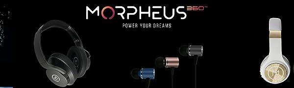 Morpheus 360 Wireless Headphones Bluetooth Headphones over ear bluetooth headphones over ear 40mm