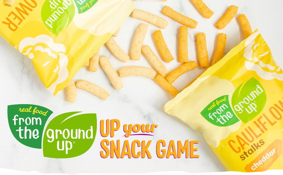 Up Your Snack Game with Real Food From The Ground Up Stalks